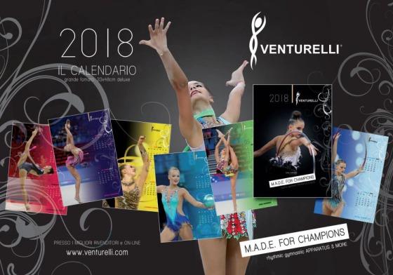 Calendario Venturelli 2018
