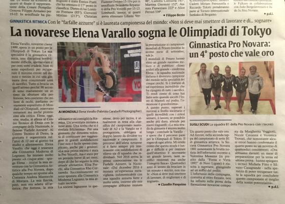 Corriere di Novara articolo 02nov2017 Elenajpg